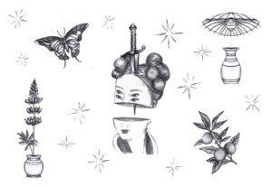 3673Diseños de tatuaje