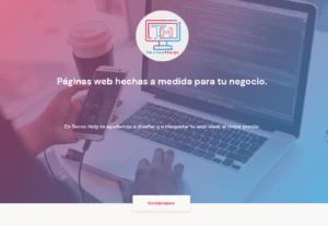 3982Desarrollo o remodelación de página web personal o para emprendimientos