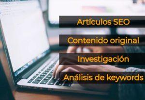 3990Redacción de artículos SEO para blogs y sitios web