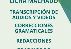4868Transcripción de audios y videos