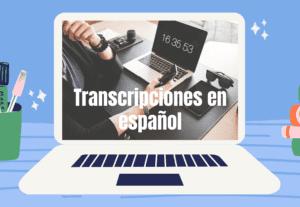 5056Transcripción de audios y vídeos a texto en español