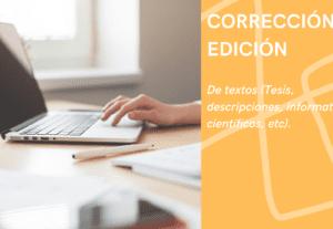 5589EDICIÓN y CORRECCIÓN de textos en español e inglés