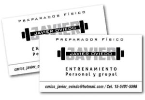 5133Tarjetas personales y creación de logo.