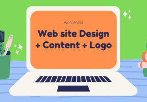 5822Creare tu sitio web + Logo + contenido