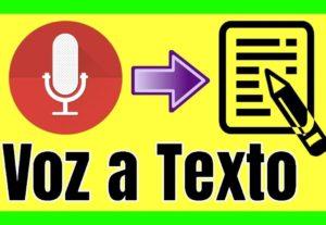 6078Trascripción de audios (En español) a texto.