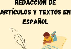 6624REDACCIÓN DE ARTÍCULOS Y TEXTOS EN ESPAÑOL – CUALQUIER TIPO DE CONTENIDO