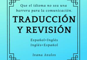 6376Traducción inglés-español y español-inglés