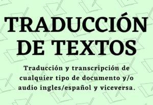 6961Traducción de tareas/documentos/libros/etc del ingles al español y viceversa