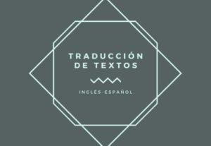 6950Traducción de textos del inglés al español y viceversa.