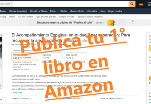 6124Publica tu primer libro en Amazon y otras tiendas