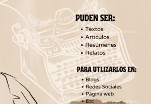 6666Redacción de articulos en español